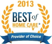 Best Home Care Provider 2013