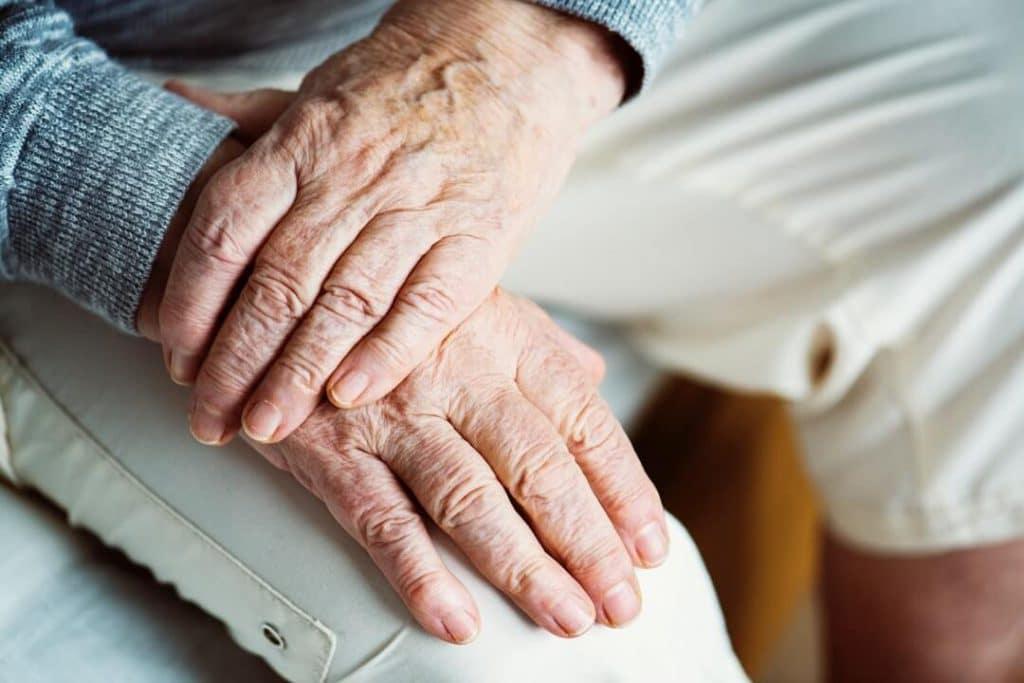 Hands of Elderly Woman in NJ