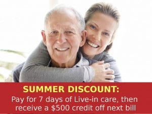 New Jersey Home Health Care Summer Discount