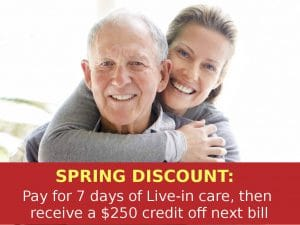 NJ Live In Care Spring Discount