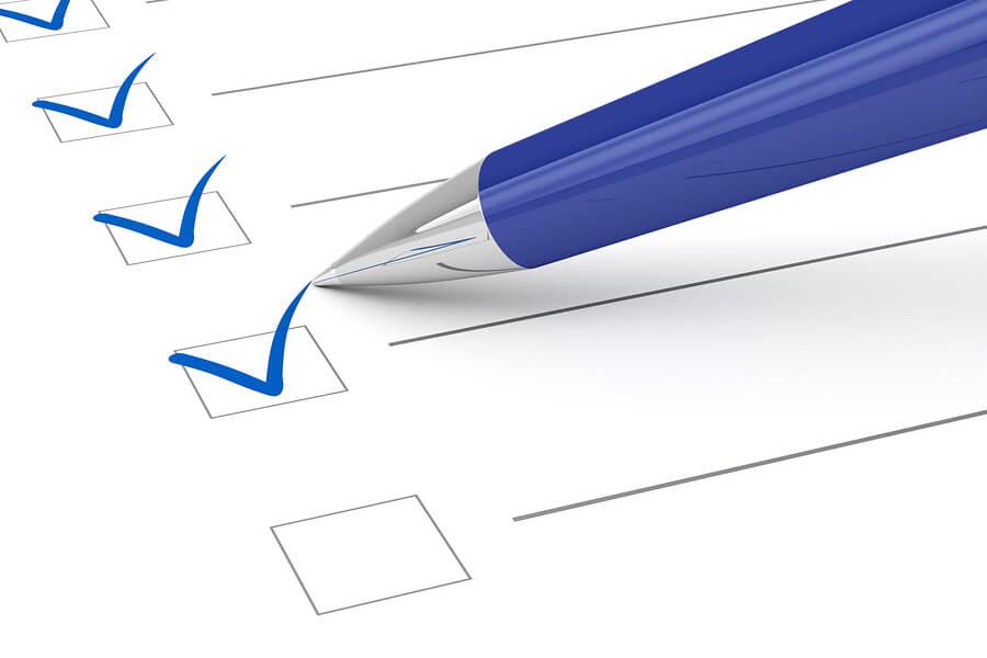 Caregiver 20 Point Checklist