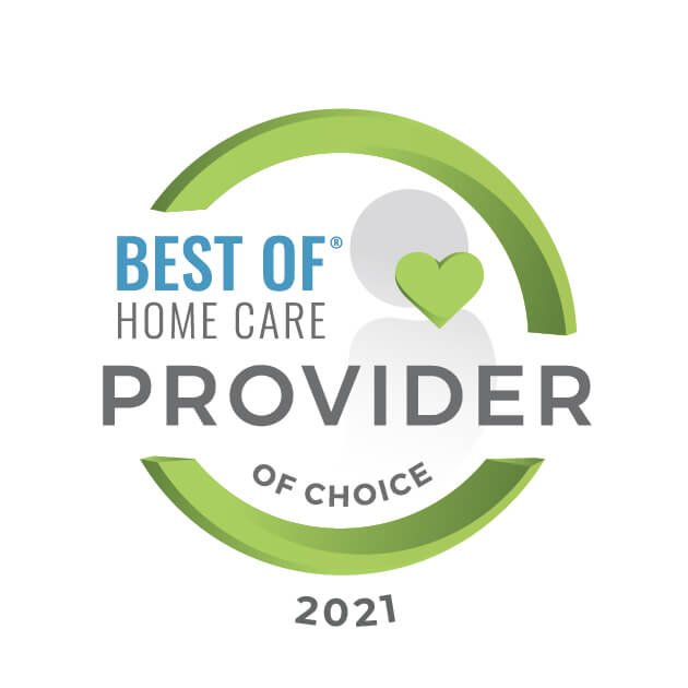 EXPERT HOME CARE Receives 2021 Best Of Home Care® – Provider Of Choice Award