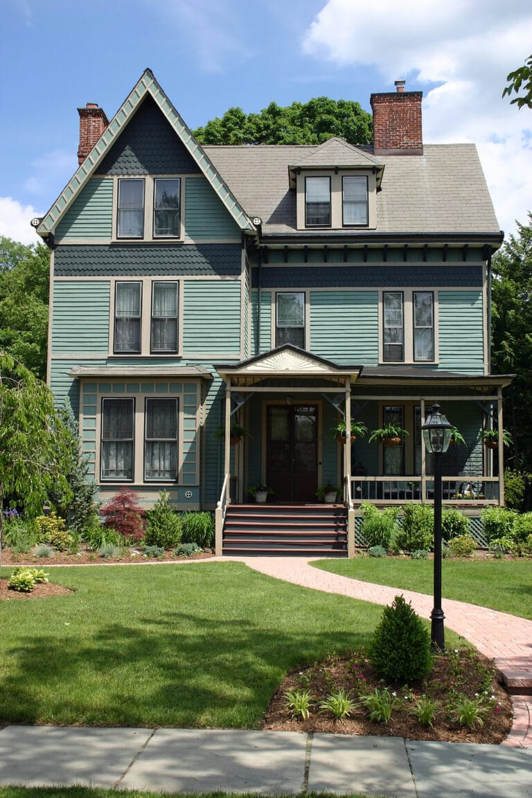 Home Care in Morristown NJ, Beautiful Victorian Home in Morristown